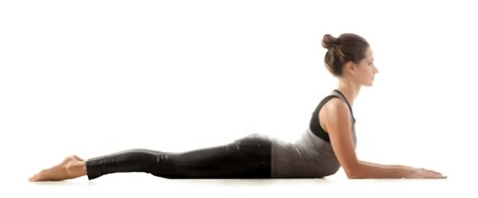 Posizione sfinge yoga