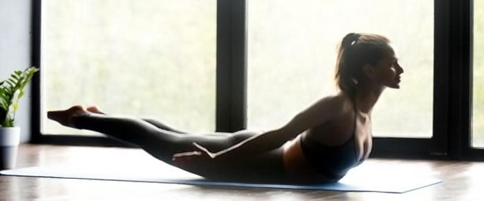 Salabhasana yoga