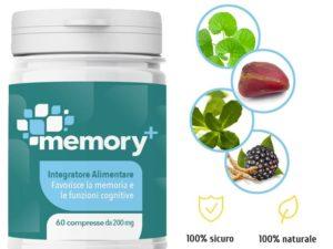 Memory+: integratore per la memoria. Recensioni ed Opinioni