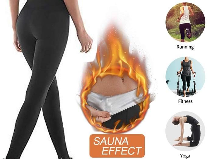NHEIMA Pantaloni Sauna: Leggings Dimagranti
