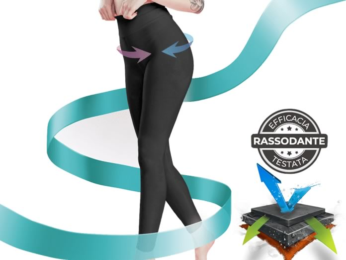 Legs Legs, il leggings snellente creato dalle donne