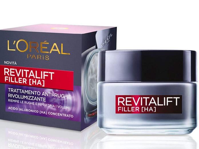 L'Oréal Paris Crema Viso Giorno Revitalift Filler