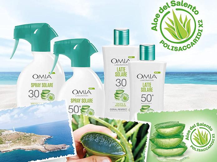 Omia - Crema Solare Protettiva SPF 50+ Viso e corpo